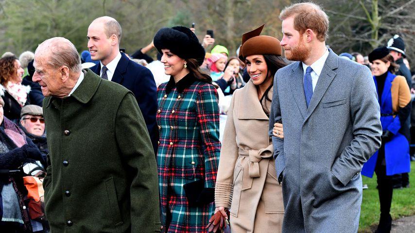 Prinz Philips Hüft-OP: Verpasst er jetzt Harrys Hochzeit?