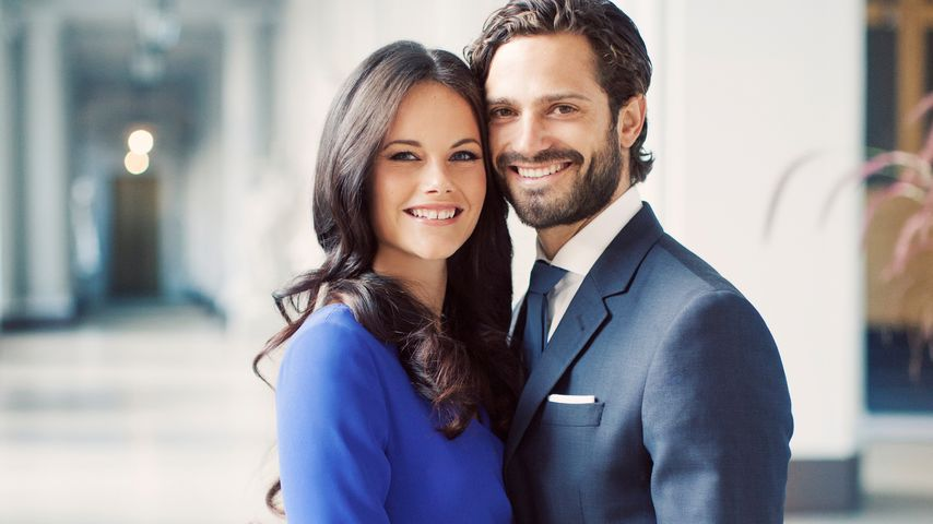 Prinz Philip und Sofia Hellqvist