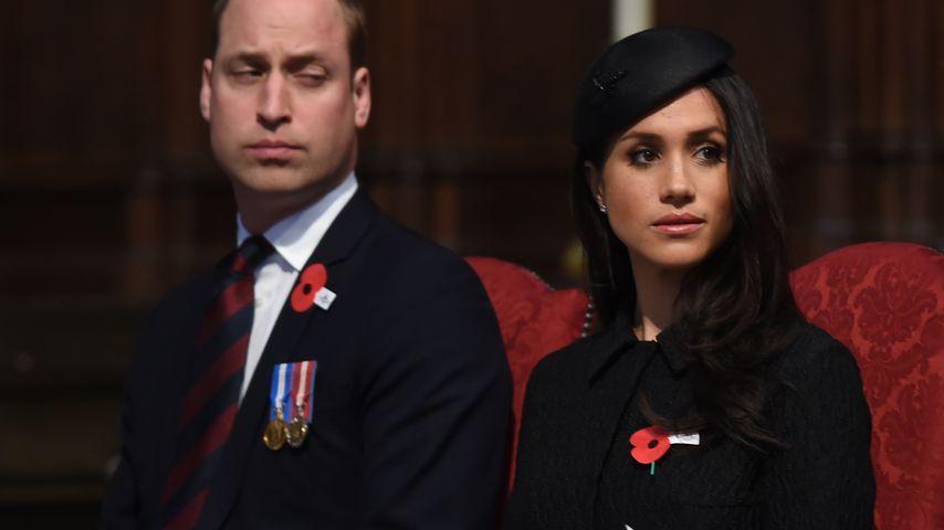 So übel soll Prinz William über Meghan geschimpft haben!