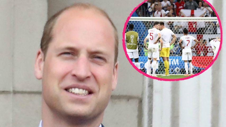 """""""Kopf hoch"""": Das sagt Prinz William zu Englands WM-Aus!"""