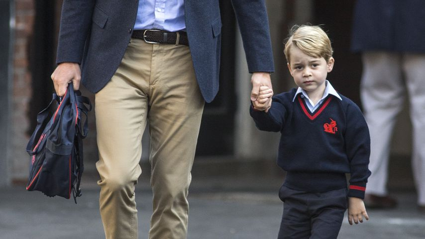 Prinz William und Prinz George im September 2017