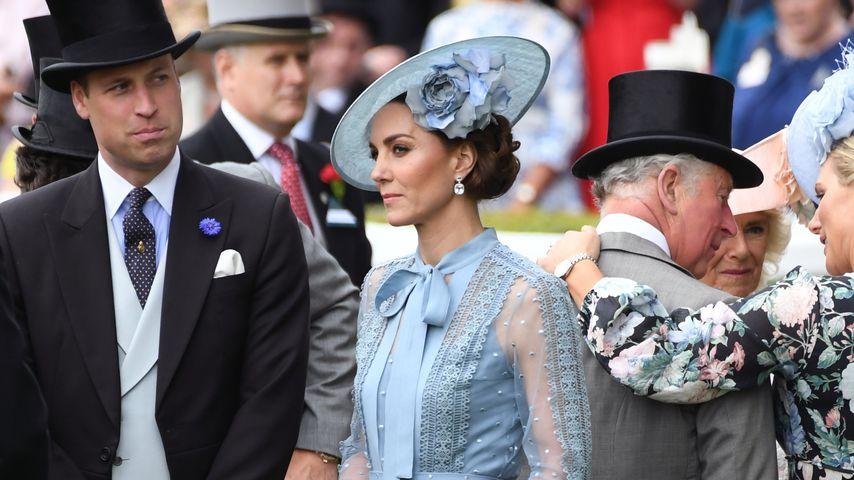 Prinz William, Herzogin Kate, Prinz Charles und Zara Tindall