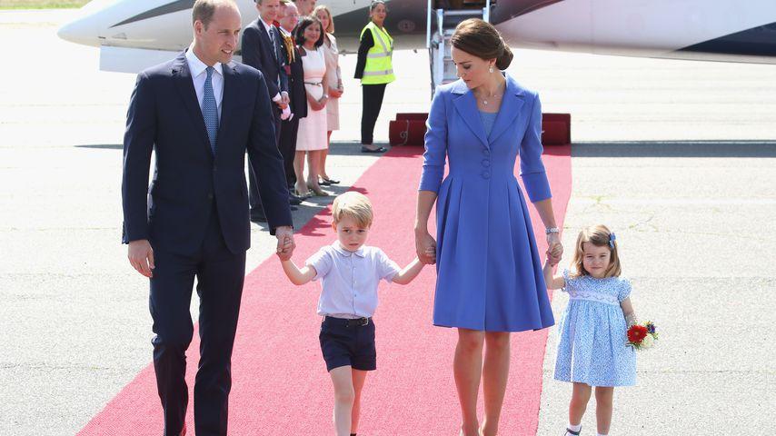 Prinz William, Herzogin Kate und ihre Kids Prinz George und Prinzessin Charlotte