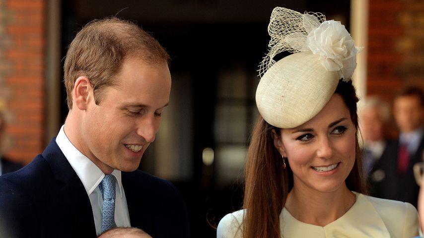 Prinz William, Herzogin Kate und Prinz George