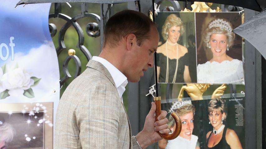 Prinz William im August 2017 in London