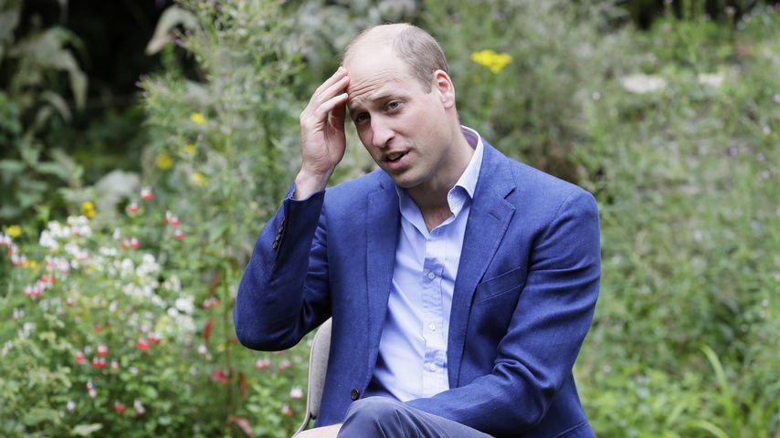Prinz William im Juli 2020 in Peterborough