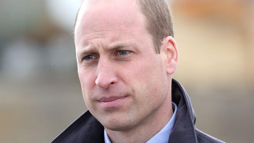 Prinz William in Schottland, 2021