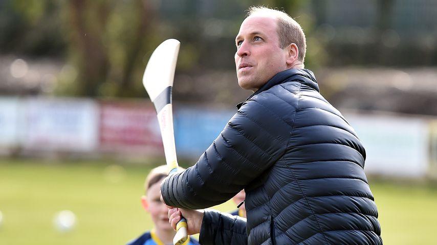 Prinz William im März 2020 in Galway