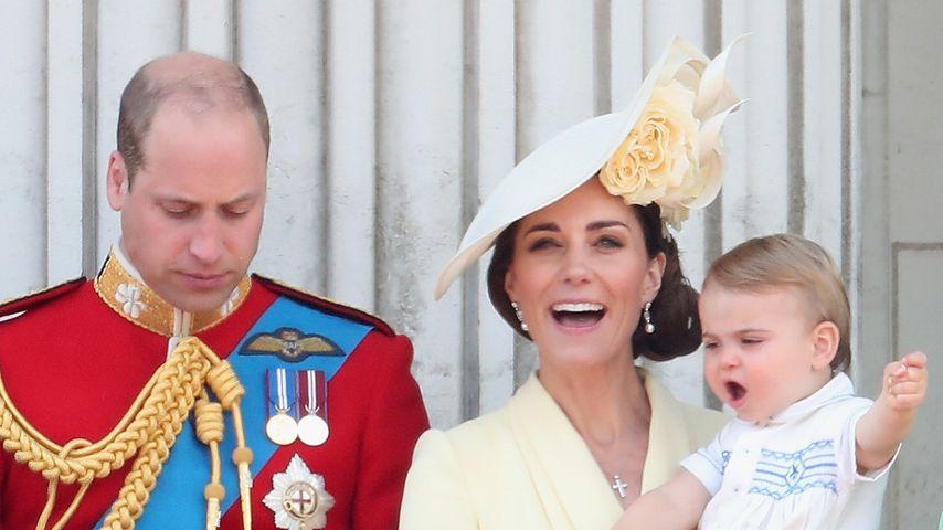 Prinz William mit Herzogin Kate und den Kindern, Juni 2019