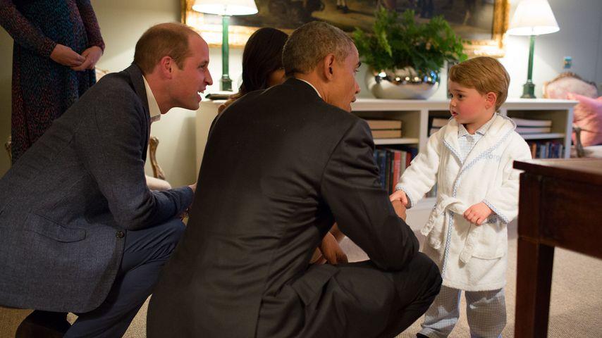 Obama als ganz normaler Papa: So feiern die Stars Vatertag