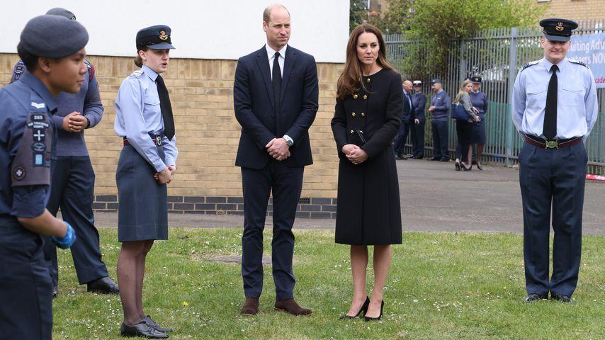Prinz William und Herzogin Kate im April 2021