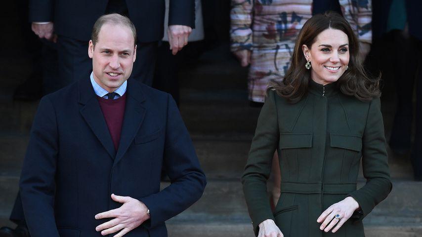 Prinz William und Herzogin Kate bei einem Besuch in Bradford