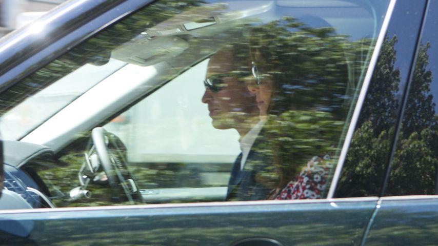 Prinz William und Herzogin Kate bei Prinz Harry und Herzogin Meghans Hochzeits-Generalprobe