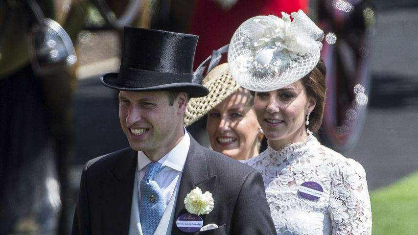 So schön: Herzogin Kate & Prinz William verzaubern in Ascot!