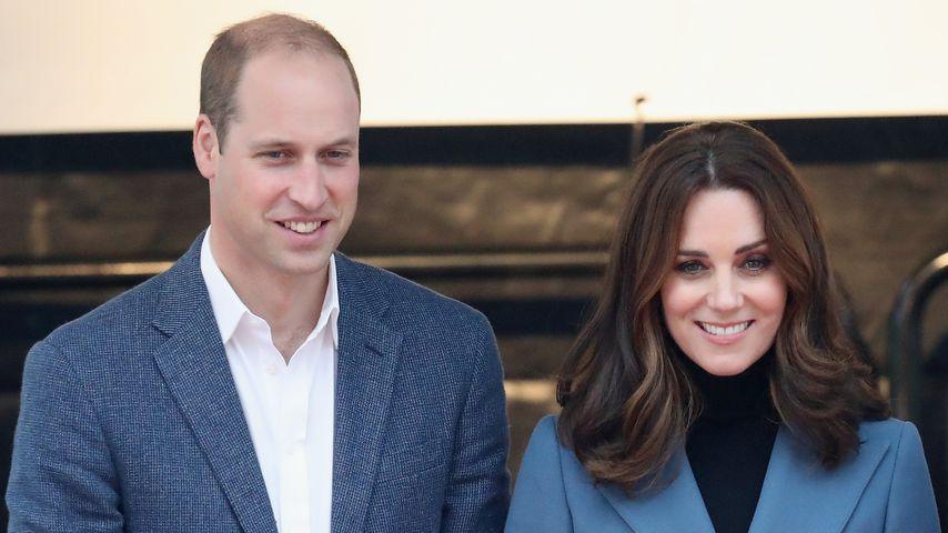Prinz William und Herzogin Kate bei der Coach Core Abschlusszeremonie