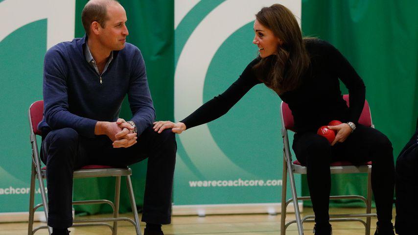 Prinz William und Herzogin Kate in Basildon, England