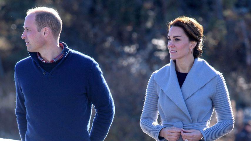 Prinz William und Herzogin Kate in der Provinz Yukon in Kanada