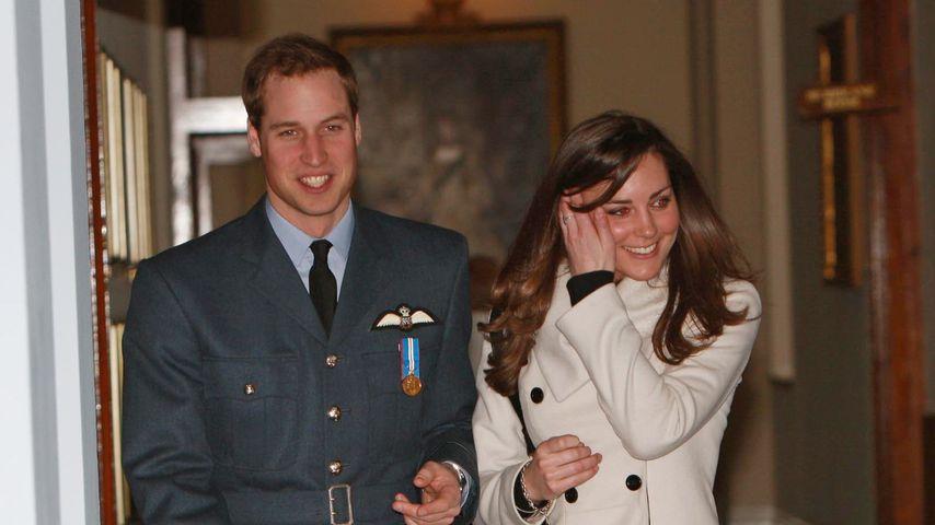 Prinz William und Herzogin Kate im April 2008