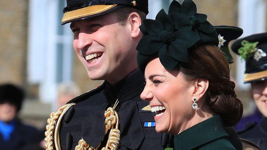 Prinz William und Herzogin Kate bei der St. Patrick's Day-Parade in Hounslow, London 2019