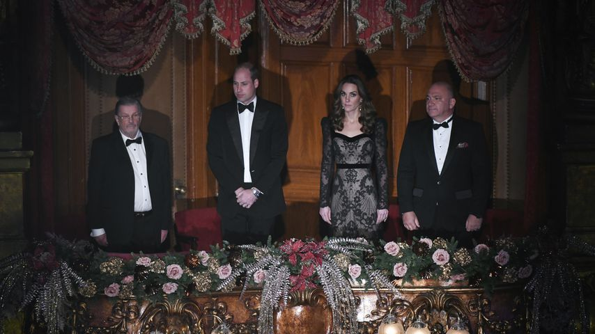 Prinz William und Herzogin Kate bei der Royal Variety Performance