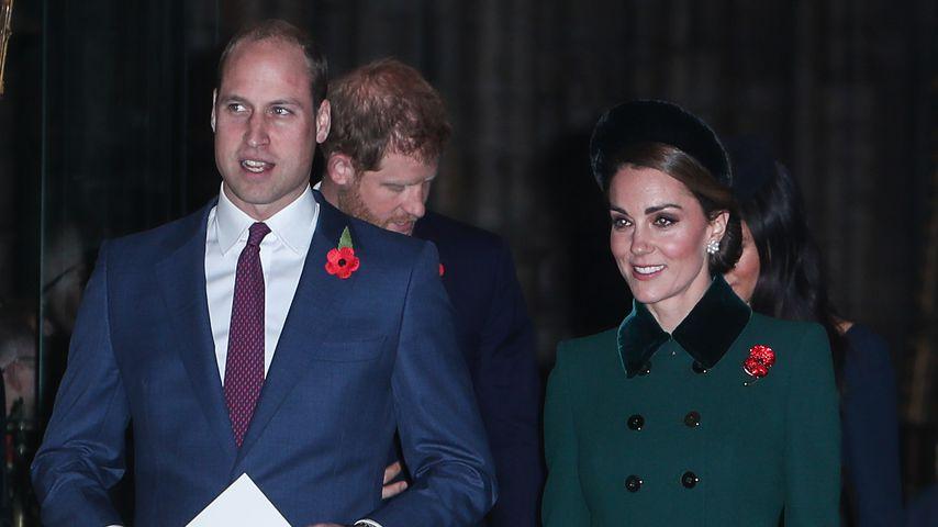 Für Gedenktag: William und Kate zurück in Hochzeits-Location