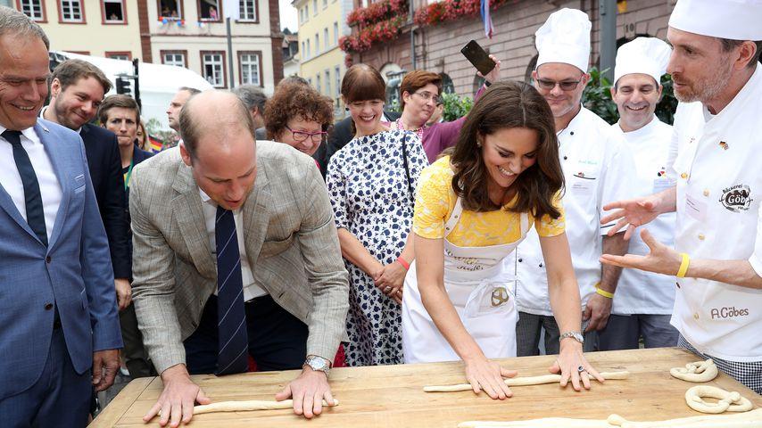 Prinz William und Herzogin Kate während ihres Besuches in Deutschland, 2017