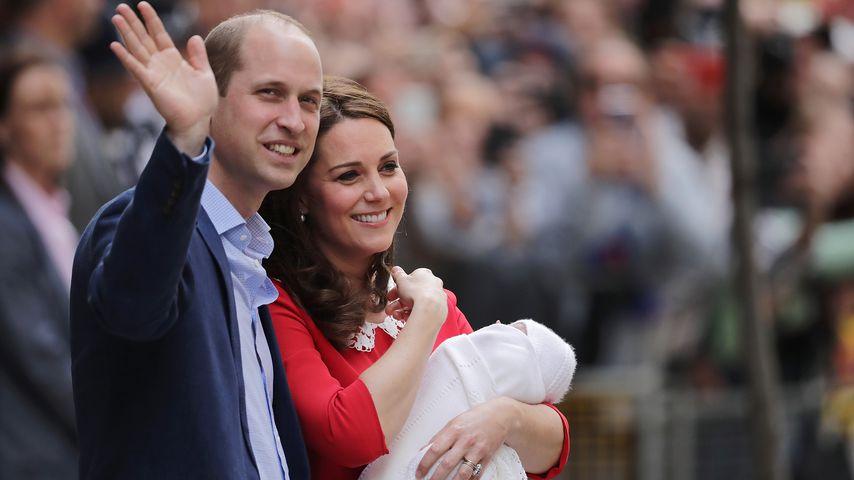 Name Gespoilert Wird Kate Und Williams Baby So Heißen Promiflashde