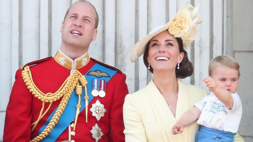 Kopfstreicheln und Co.: So erzieht Herzogin Kate ihre Kinder