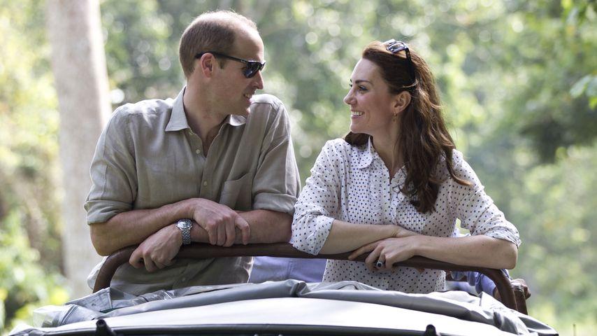 Vor der Hochzeit: Dieses Versprechen gab William seiner Kate