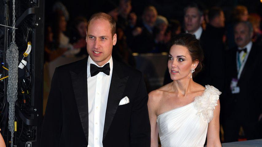 Prinz William und Herzogin Kate bei den British Academy Film Awards, 2019