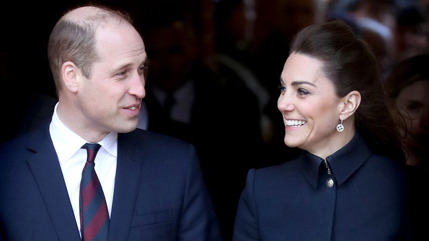 Prinz William und Herzogin Kate bei eines Rehazentrums-Besuch in England im Februar 2020