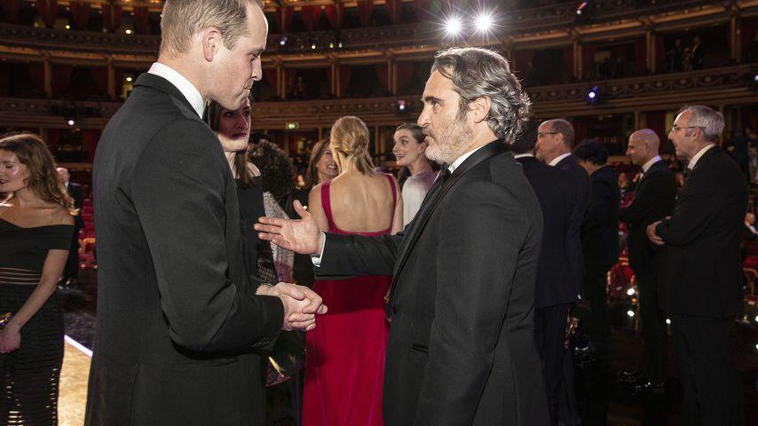 "Prinz William gesteht Joaquin: ""Joker"" machte ihm Angst!"