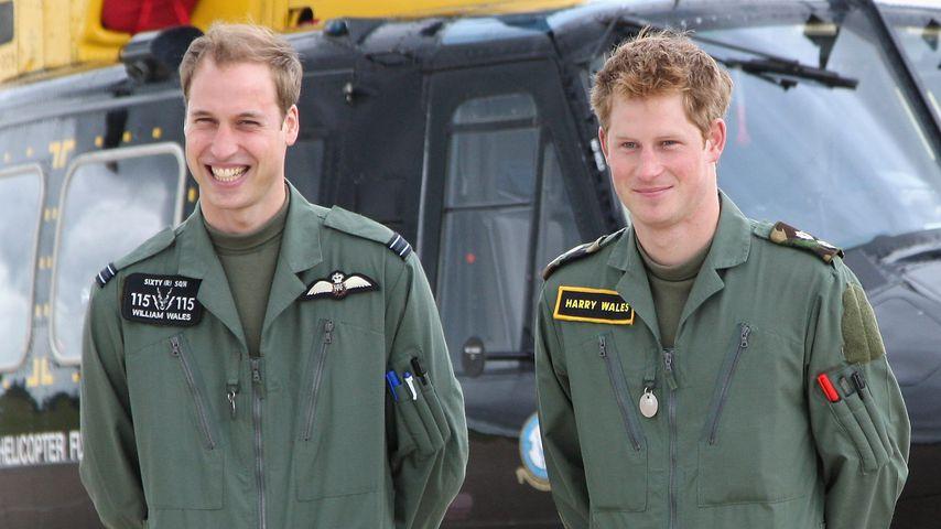 Prinz William und Prinz Harry im Jahr 2009