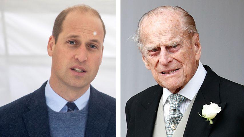 William verrät: So geht es Prinz Philip nach Klinik-Schock