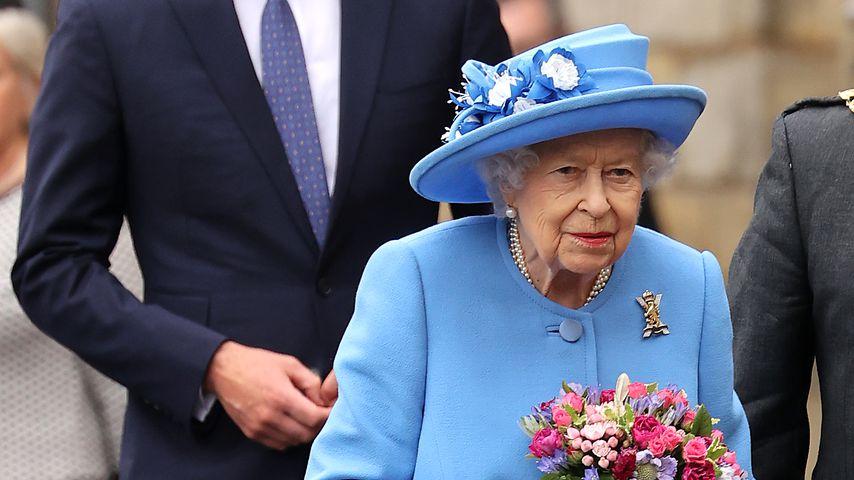 Prinz William und Queen Elizabeth II.