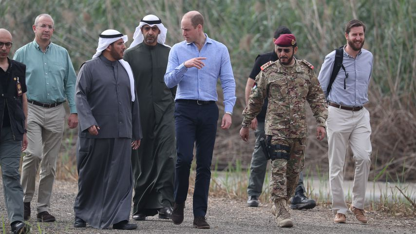 Prinz William in Kuwait im November 2019
