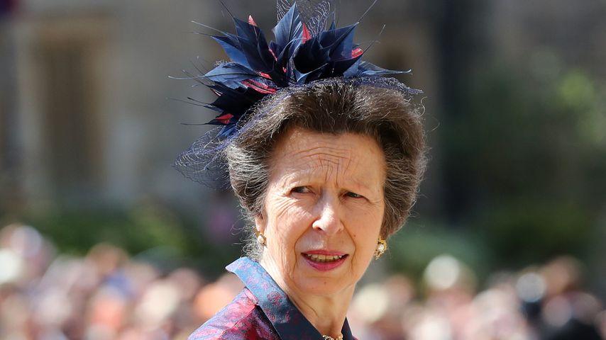 Prinzessin Anne bei der Hochzeit von Harry und Meghan im Mai 2018