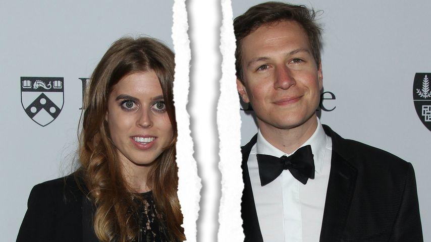Prinzessin Beatrice und Dave Clark bei einem Event der Sean Parker Foundation in Los Angeles