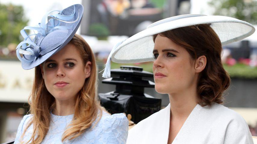 Prinzessin Beatrice und Prinzessin Eugenie beim Royal Ascot 2018