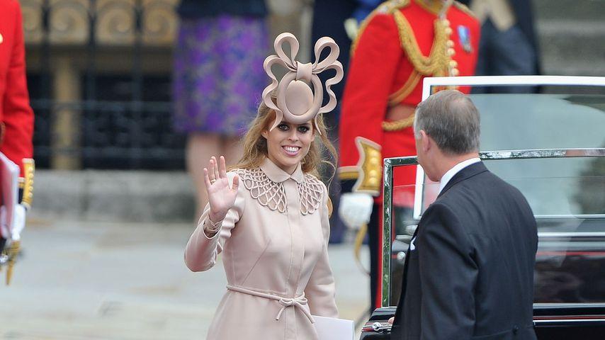 Prinzessin Beatrice bei der Hochzeit von Prinz William und Herzogin Kate, 2011