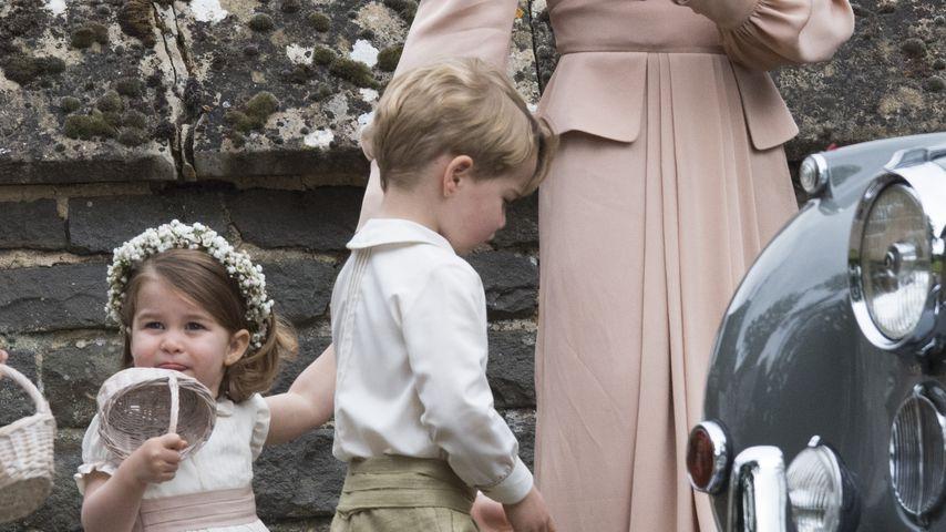 Prinzessin Charlotte, Herzogin Kate und Prinz George