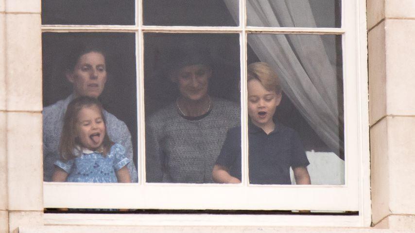 Bei Air Force-Jubiläum: Nanny-Ärger für Charlotte & George!