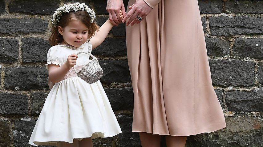 Prinzessin Charlotte und Herzogin Kate bei der Middleton-Hochzeit in Englefield