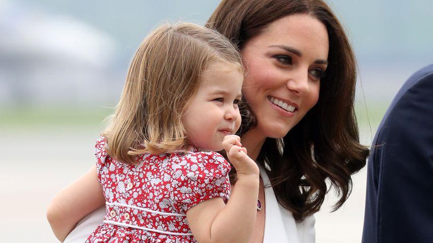 Prinzessin Charlotte und Herzogin Kate in Polen