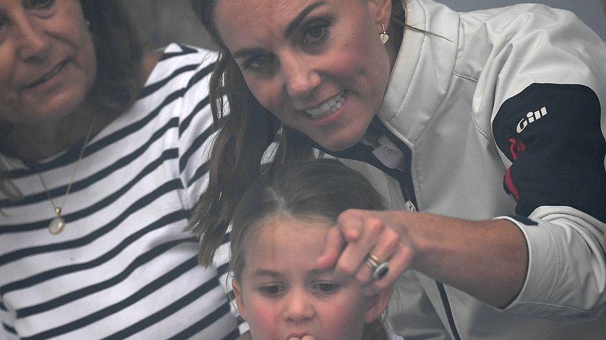 Prinzessin Charlotte und ihre Mama Herzogin Kate