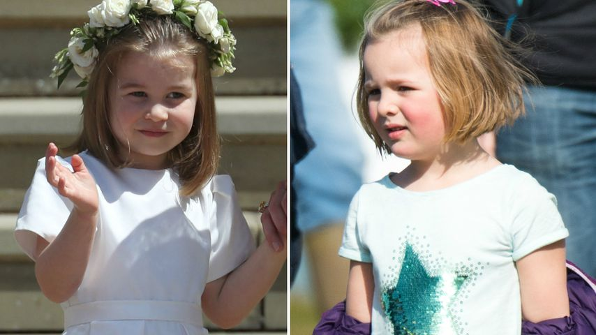 Ganz verschieden: Prinzessin Charlotte & Cousine Mia Tindall