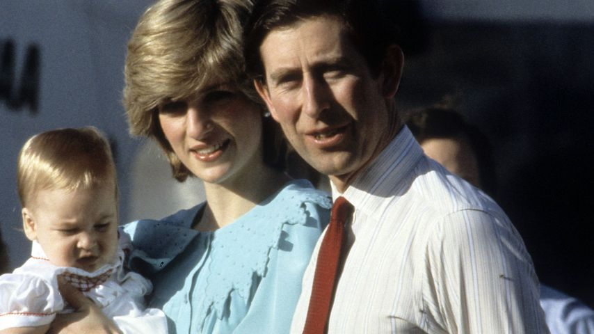 Prinz William, Prinz Charles und Prinzessin Diana