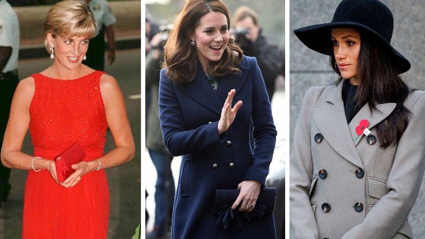 Diana, Kate & Meghan: Das haben die Royal-Ladys gemeinsam!