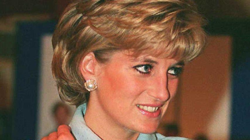 Prinzessin Diana im Hilton Hotel in London