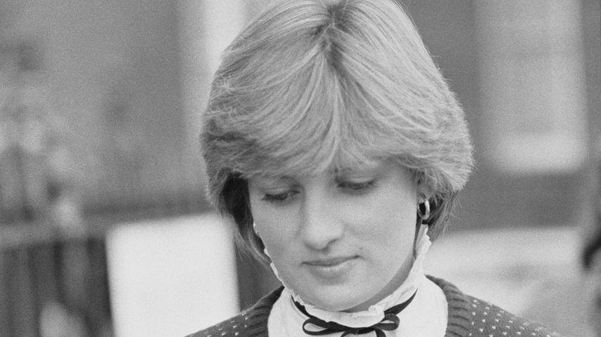 Prinzessin Diana im November 1980